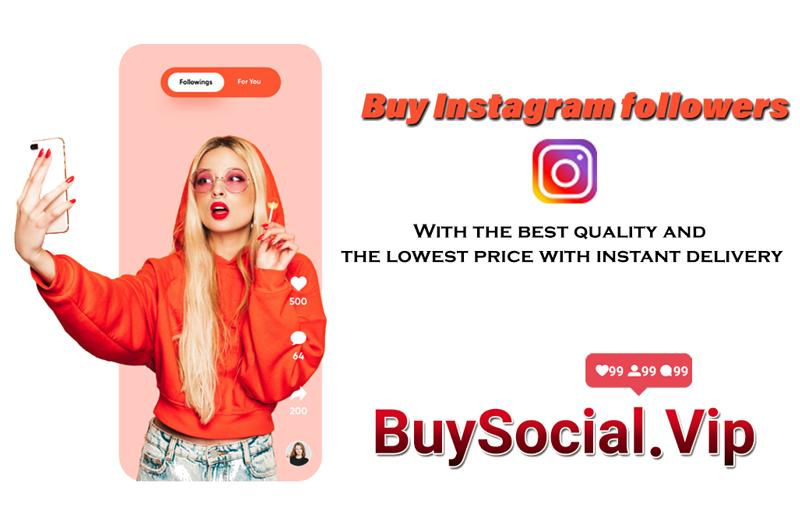 Buy Instagram followers-buysocial.vip